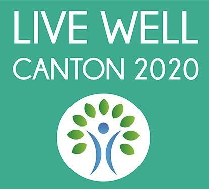 LIVE WELL Canton 2020 Logo