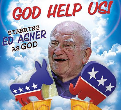 God Help Us Promotional Photo featuring Actor Legendary Actor Ed Asner